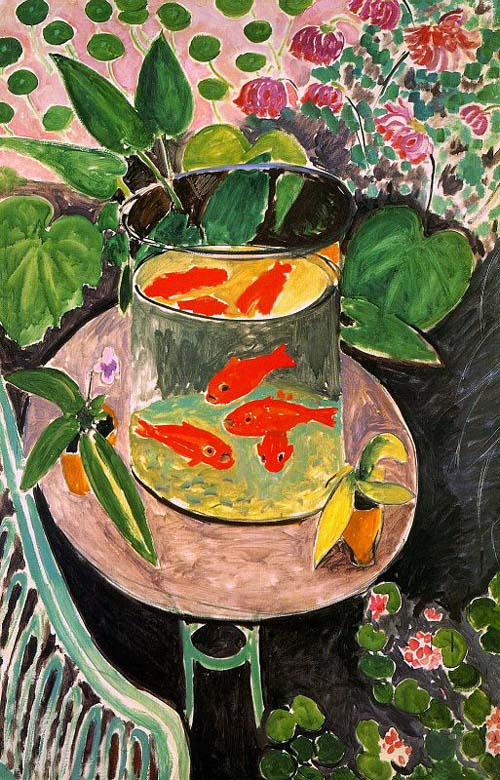 matisse fish bowls the positively perfect purple pencil